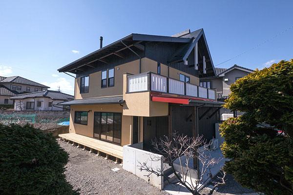 蓬ヶ原の家-1
