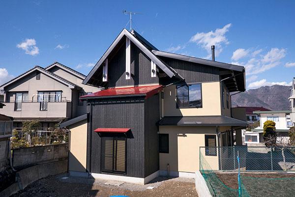 蓬ヶ原の家
